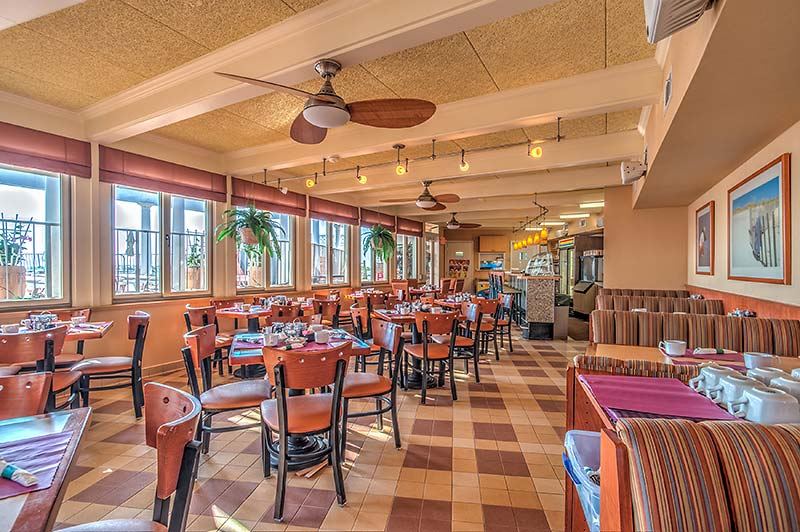 Cafe at the Reges Oceanfront Wildwood Crest Resort