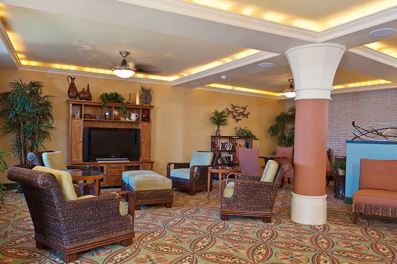 Reges Oceanfront Wildwood Resort Lobby