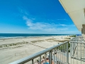 Reges Oceanfront Resort Balcony View