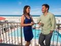 Wildwood Crest Hotel, Couple Enjoying Oceanfront Balcony