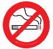 Reges Oceanfront Resort is smoke free!