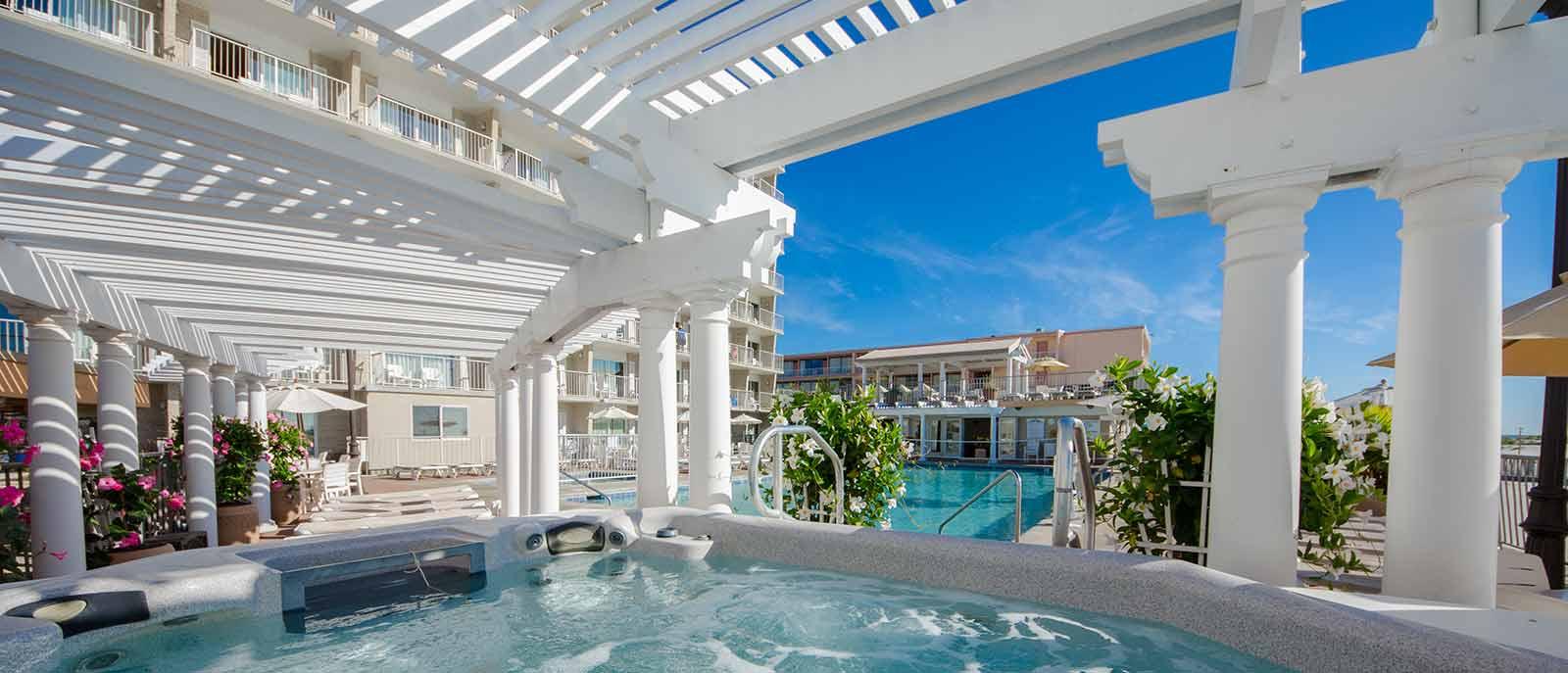 Wildwood Crest Hotel Pool